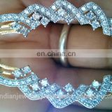 cubic zirconia jewelry ear cuffs manufacturer, cubic zirconia jewellery ear cuff exporter