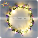 LED Flower Garland Christmas favor glow garland