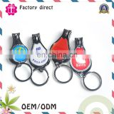 Newest tourist gift customize photo souvenir metal nail clippers keychain