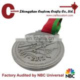 factory custom blank coin holder hockey sports metal medal