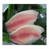 IQF Normal Trimmed 10% Glazing Tilapia Fillets