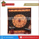 Indian Astrology Zodiac Sign Wall Hanging Horoscope Tapestry