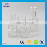Hot sale glass mason mug clear glass drinking bottle                                                                                                         Supplier's Choice