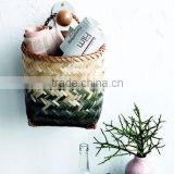 High quality best selling eco-friendly Set of Two Bamboo Storage basket with Handles from Vietnam