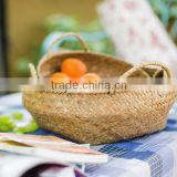 hot sale in Europe willow basket with fabric wicker basket home storage                                                                                                         Supplier's Choice