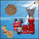 hot selling Electric Wood Flat Die Pellet Mill machine / wood pellet making machine