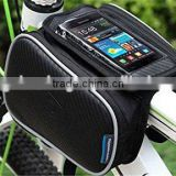 Crazy Shopping Bicycle Cycling Bike Frame Pannier Bag Saddle Bag Rack Top Tube bag Double Side bag with Mobile Phone Pouch for 5