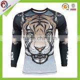 cheap sublimated custom tattoo rash guard, lycra rash guard surf shirt, rash guard fabric                                                                         Quality Choice