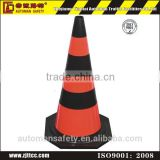 "28"" Unbreakable Flexible Industrial Rubber Traffic Safety Road Cone"