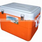 45L plastic cooler box with PE EPS for keep 20 hours cool