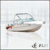 Bowrider side control speed boat