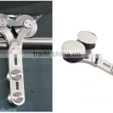First Grade Of Double stainless steel high quality 4 bearings sliding door hanger roller