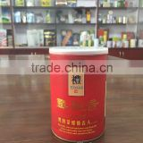 High quality beautiful air-tight small round tin can manufacturer for tea