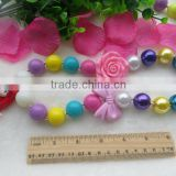 Newest acrylic Bubblegum Beads Princess Pendant Necklace, for Girls Party Use Wholesale!!