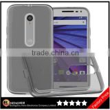 Keno for Motorola Moto G 3rd Gen TPU Case, for Motorola Moto G3 3rd Gen Ultra Thin Transparent Clear TPU Gel Silicone Case Cover