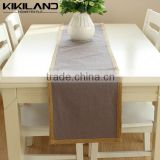 Banquet Decoration Cheap Plain Jute Woven Table Runner
