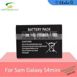 2016 rechargeable lithium ion battery for 1900mAh Lithium Cellphone Battery for Samsung S4 mini i9190