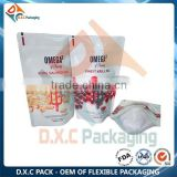 OEM Sea Salt Pouch Body Scrub Cream Packaging Bags