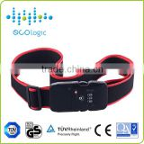 High performance anti-theft alarm bluetooth luggage belt with buzzer alarm and LED indicator
