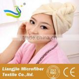 [LJ towel] 2015 New Arrival Premium Microfiber hair turban towel