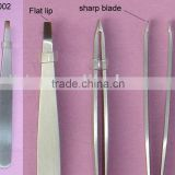 Good quality cosmetic professional eyebrow tweezers