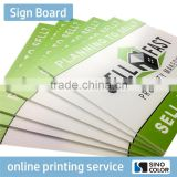 High Quality Printed Type PVC Foam Board real estate signs