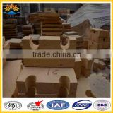 for glass furnace fire resistant brick Low porosity fire clay bricks