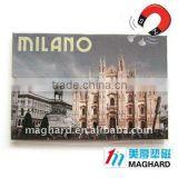MILANO Church of Duomo Tourist souvenirs Iron Fridge Magnets