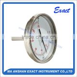 High Quality Stainless Steel industrial bi-metal thermometers Exact