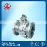 3/4'' ansi 150 WCB flange end ball valve