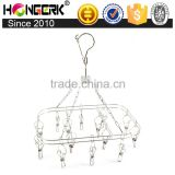 windproof stainless steel hanger for socks                                                                                                         Supplier's Choice