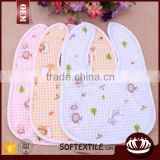 wholesale high quality hot sale baby bib plain terry towel                                                                         Quality Choice