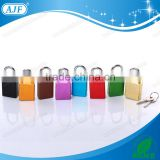AJF high quality and top security colourful aluminium padlock with keys                                                                         Quality Choice