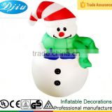 DJ-137 8ft clown hat single inflatable outdoor christmas abominable snowman decoration