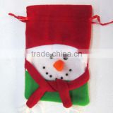 Felt Christmas Drawstring Bag