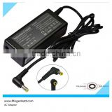 Laptop Battery Charger Plug In, 60W 19V 3.16A,with 5.5*2.5mm For FUJITSU Laptop Ac Adapter, Ac 100V 240V Power Supply