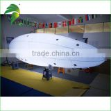 6M RC Cheap PVC Helium Blimp , Inflatable Blimp / Zeppelin / Airship Balloon For Sale