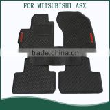 Top Quality 3D Car Floor Mat for MITSUBISHI ASX Odourless Foot Mat Fit in Left Hand Driver Car