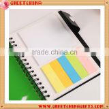 Kraft Spiral recycled notebook with pen & sticky note index attached for office stationery                                                                         Quality Choice