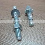 Ningbo hardware fastener supply stainless steel hilti wedge anchor zinc plated China manufacturers&importers