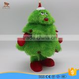 custom plush material singing and dancing christmas tree                                                                                                         Supplier's Choice