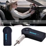 3.5mm Car Home Stereo Audio Bluetooth Hands-free Music Receiver Mic Cable Adapter SV007306