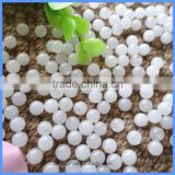 4mm 10mm 12mm Half Drilled Smooth Round Natural White Jade Loose Beads Gemstone For DIY Earrings Making HD-WJSR4mm