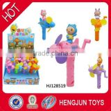 China shantou chenghai toy factory surprise sweet candy toys Waybuloo super fan plane 12pcs