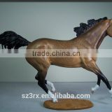 10 inch custom made running horse resin sculpture, 25 cm resin figure,resin animal figure my own design model exclusive edition