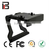 Video game accessories for xbox360 tv clip for xbox360 kinect clip with stander for kinect with factory price