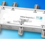 Satellite DiSEqC Switch 6 in 1 DISEQC JC-61A 6X1 diseqc