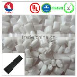 Flame retardant material ABS resin with 32% Oxygen Index / Natural color 32% OI FR ABS bulk plastic pellets