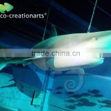 Hot sale animal statue fiberglass shark sculpture