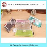 Kids school pencil case custom wholesale pencil bag clear transparent PVC pen bag for teenagers